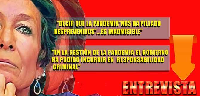 """NINES MAESTRO: """"EL GOBIERNO 'PROGRESISTA' HA ANTEPUESTO LA SACROSANTA PROPIEDAD PRIVADA A LAS VIDAS DE LA GENTE"""""""