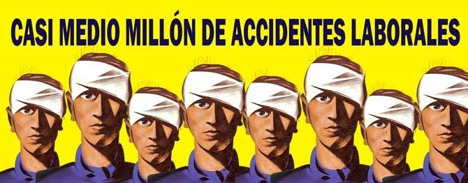 Más de 405 víctimas mortales en accidentes laborales en lo que va de año