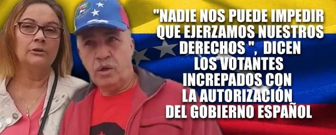 Resultado de imagen para Gobierno español permite la intimidación contra votantes venezolanos en Canarias