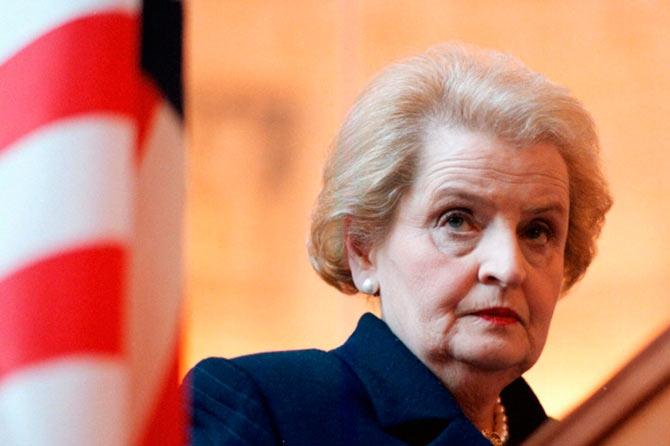 Resultado de imagen para Madeleine Albright.